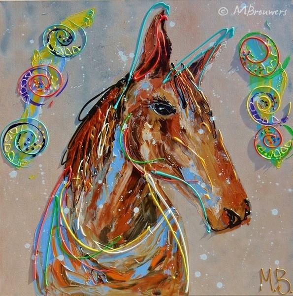 paardenschilderij uit zwolle