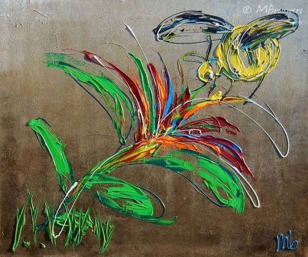 abstract, dieren, natuur, schilderij, kunst, interieur, vrolijk