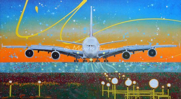 moderne kunst, vrolijk schilderij, kleurrijke schilderijen, schilderij in opdracht, dierenschilderijen, kunst voor bedrijven, interieur, 3D kunst