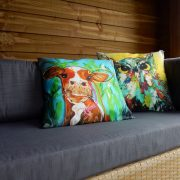 buitenkussen, sierkussen, tuindecoratie, tuinkussen, loungekussen, tuinaccessoirte, design, kunstproduct