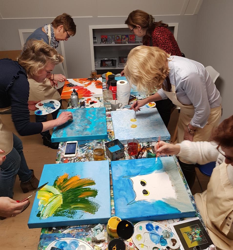 Schilderij Met Eigen Foto.Eigen Schilderij Maken Marieke Brouwers