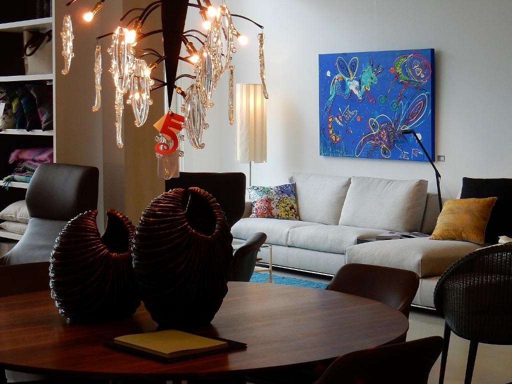 spindenext zwolle, interieur, wonen, luxe inrichting, woonwinkel, kunst in interieur, kunst in huis, schilderij boven de bank, schilderij keuken, kunst op kantoor