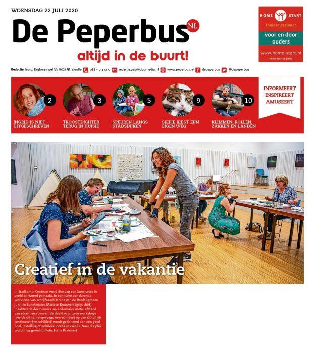 zwolse kunst, schildersworkshop in Zwolle, kleurrijke kunst, kunstenaar Marieke Brouwers, schilderij maken, kleurrijke kunst, vrolijk schilderij, schilderij laten maken, schilderij in de keuken, schilderij voor kantoor