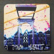 Zwolle, kunst, fotografie, binnenstad, cadeau, relatiegeschenk, wijn, wijnarrangment, cadeaupakket, geschenkenbox, luxe product, kleurrijke kunst, design, wonen